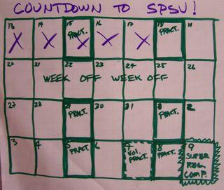 SR Countdown Cal