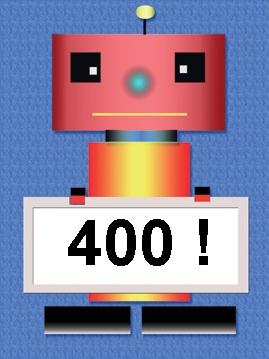 Robot 400 Sign